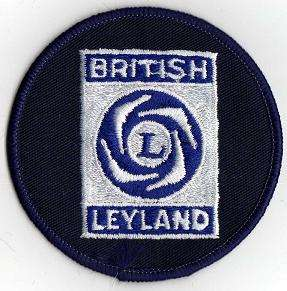 BRITISH LEYLAND TYGMÄRKE 77mm