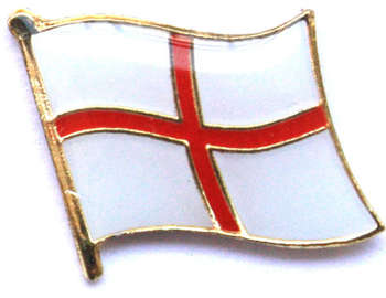 ENGLAND ST GEORGE PIN