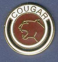 MERCURY COUGAR PIN