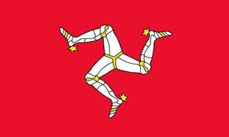 ISLE OF MAN FLAGGA 150X90CM