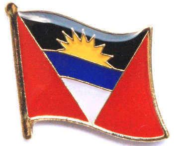 ANTIGUA OCH BARBUDA PIN