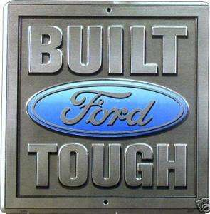 FORD BUILT TOUGH PLÅTSKYLT 30,5x29cm