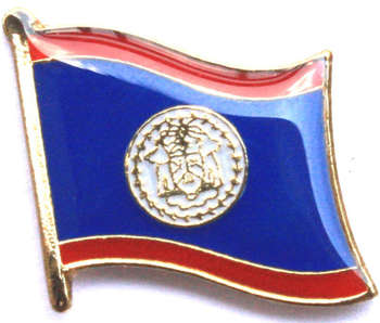 BELIZE PIN