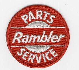 RAMBLER PARTS SERVICE TYGMÄRKE 77mm