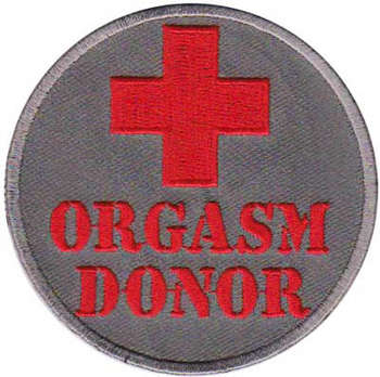 ORGASM DONOR TYGMÄRKE 75mm