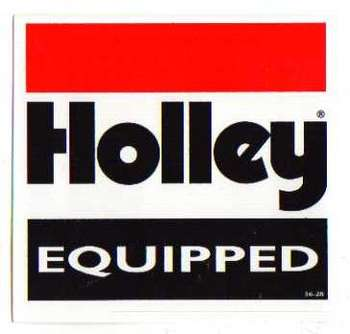 HOLLEY DEKAL
