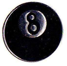 EIGHTBALL PIN