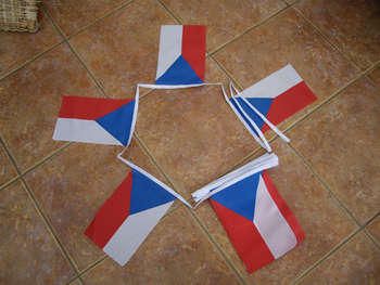 Tjeckien Flaggor Köp Billigt Online Flagstore