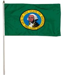 WASHINGTON HANDFLAGGA 45X30CM