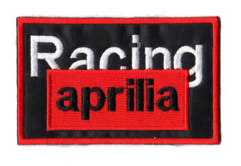 APRILIA RACING TYGMÄRKE 100x63mm