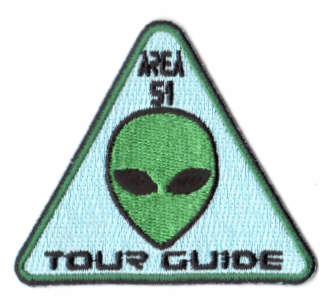 AREA 51 TOUR GUIDE 76x66mm