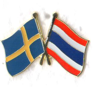 bangkok stockholm thai flagga
