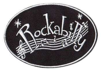 Rockabilly tygmärke - patch 105x73mm