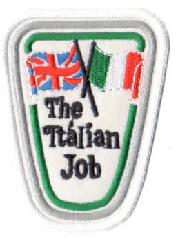 The Italian Job tygmärke - patch 83x63mm