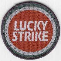 LUCKY STRIKE TYGMÄRKE 65mm
